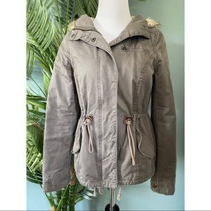 2 for $30/H&M grey utility jacket
